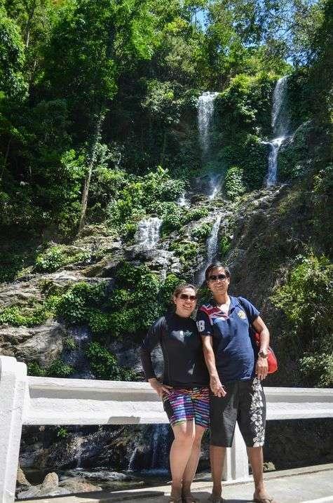 Tamaraw Falls in Puerto Galera