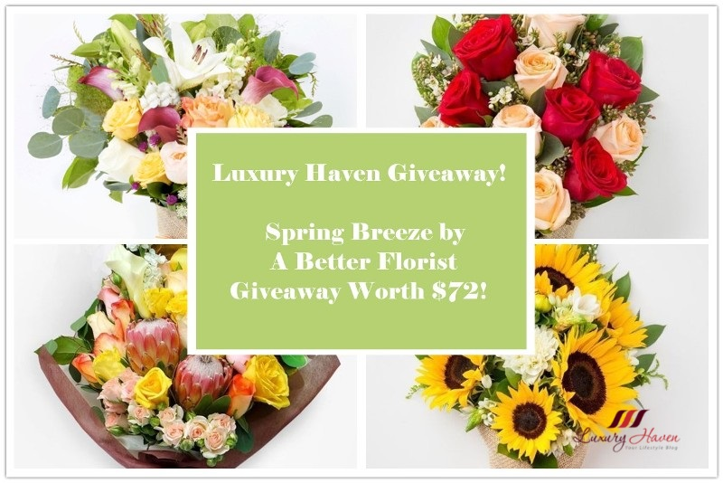 luxury haven better florist giveaway flowers