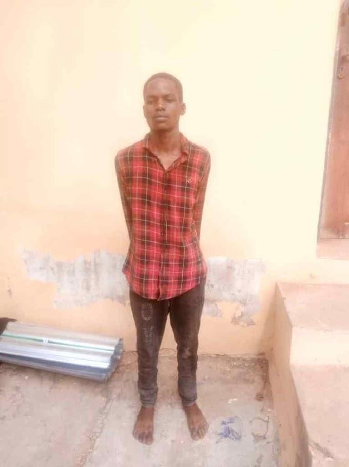 Police Arrest Man With Fresh Human Head & Hands In Kwara State