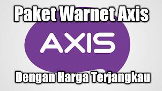 Paket Warnet Axis dengan Harga Terjangkau