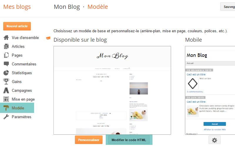 Créer une liste déroulante de libellés sur Blogger