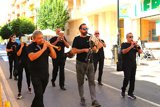 Menestrils Pasacalle 9 octubre Ontinyent