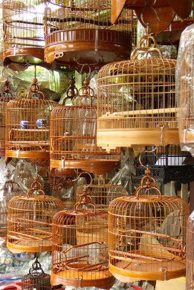 Bamboo Bird Cages Bamboo Craft Photo