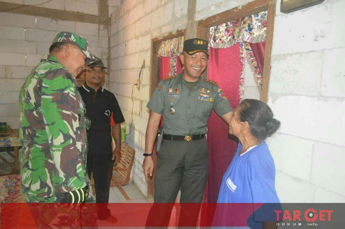 Dandim Pati Cek Persiapan Penutupan TMMD Sengkuyung di Desa Giling Gunungwungkal Pati