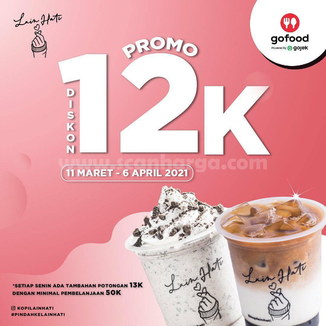 KOPI LAIN HATI Promo DISKON Rp 12.000 via aplikasi GOFOOD