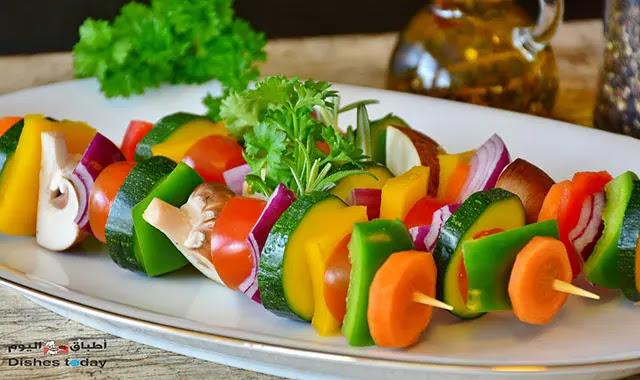 طريقة تقطيع و تشكيل الخضروات