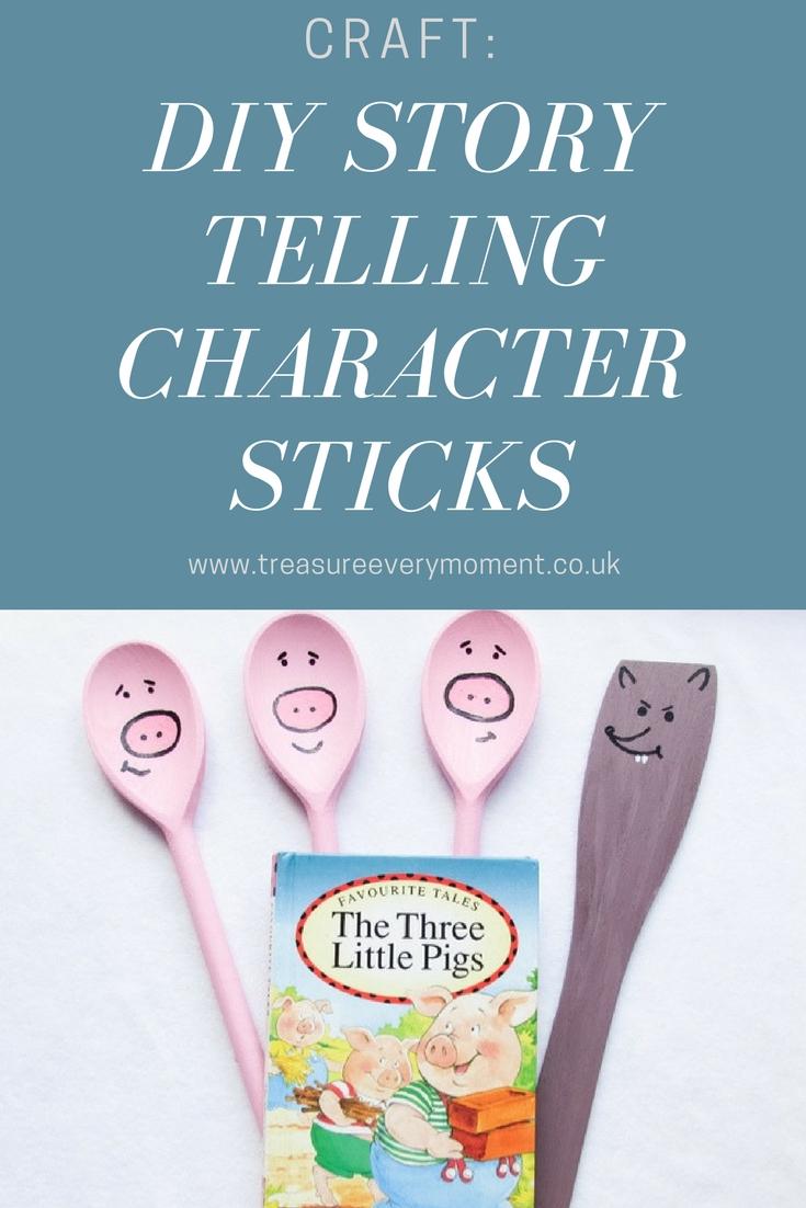 CRAFT: DIY Story Telling Character Sticks