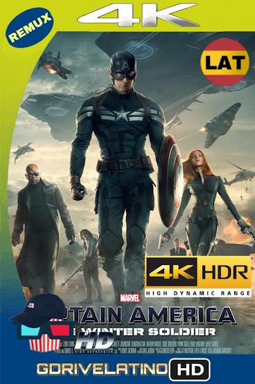 Capitán América y El Soldado Del Invierno (2014) BDRemux 4K HDR Latino-Ingles MKV