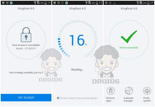 KingRoot Samsung Galaxy J1 4G