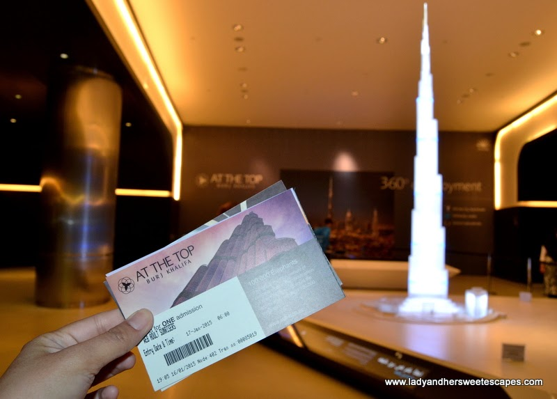 sunrise tickets to At The Top - Burj Khalifa