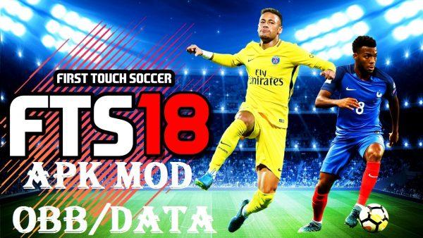 FTS18 - أول لمسة لكرة القدم 2018 وزارة الدفاع APK OBB ملف بيانات ملف تنزيل