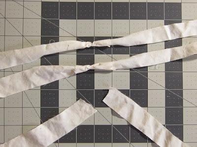 sheet yarn, recycled fabric, fabric scrap yarn, how to join