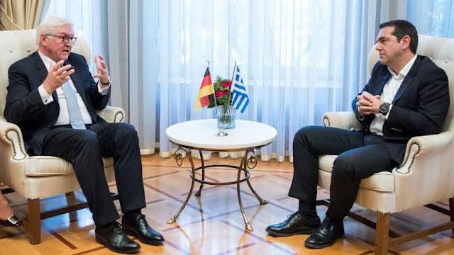 Tsipras-Steinmeier: Prespa-Abkommen ist ein mutiger Schritt