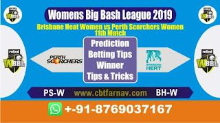 WBBL 2019 BH-W vs PS-W 11th Today Match Prediction Womens Big Bash League 2019
