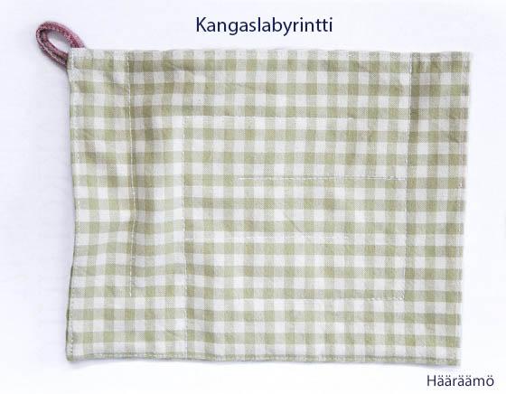 Kangaslabyrintti Fabric Marble Maze