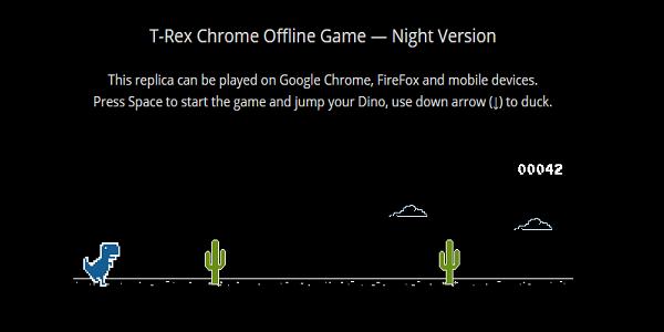 Game T.Rex Night