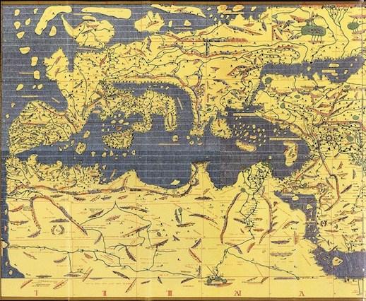 Ternyata Orang Ini Yang Menjadi Pembuat Peta Dunia Pertama Kali Hanya Dengan Waktu 15 Tahun