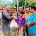 Ketua ITA Riau dan X-Tar Rohul, Salurkan Bantuan Sembako ke masyarakat di Dusun Sungai Bungo