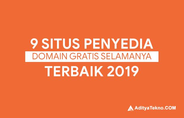 Situs Penyedia Domain Gratis Terpercaya Selamanya Free Terbaik 2019