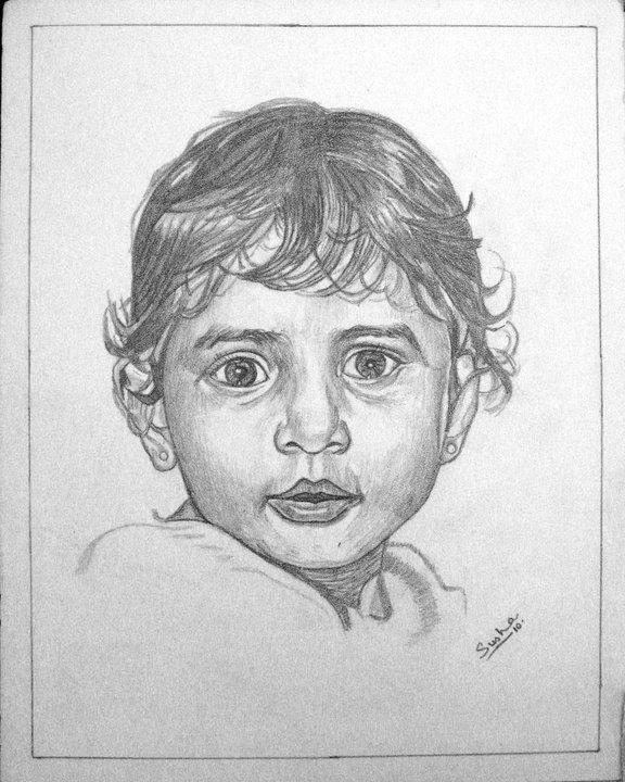 Sushma CG Arts Pencil Sketches