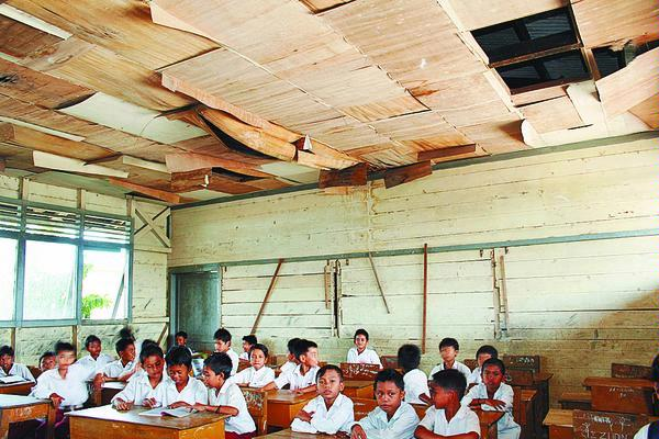 1,3 Juta Gedung Belajar Rusak, DPR Usulkan RUU Sarpras Sekolah