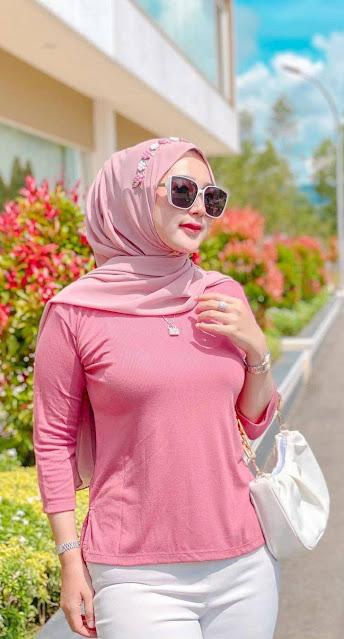 5 Contoh OOTD Hijab Simple Untuk Hangout 2021