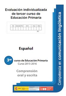PRUEBAS DE EVALUACIÓN  DIAGNÓSTICA  3º EDUCACIÓN PRIMARIA