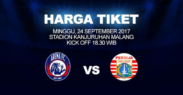 Ini Harga Tiket Terbaru Arema Fc Di Liga 1 2017