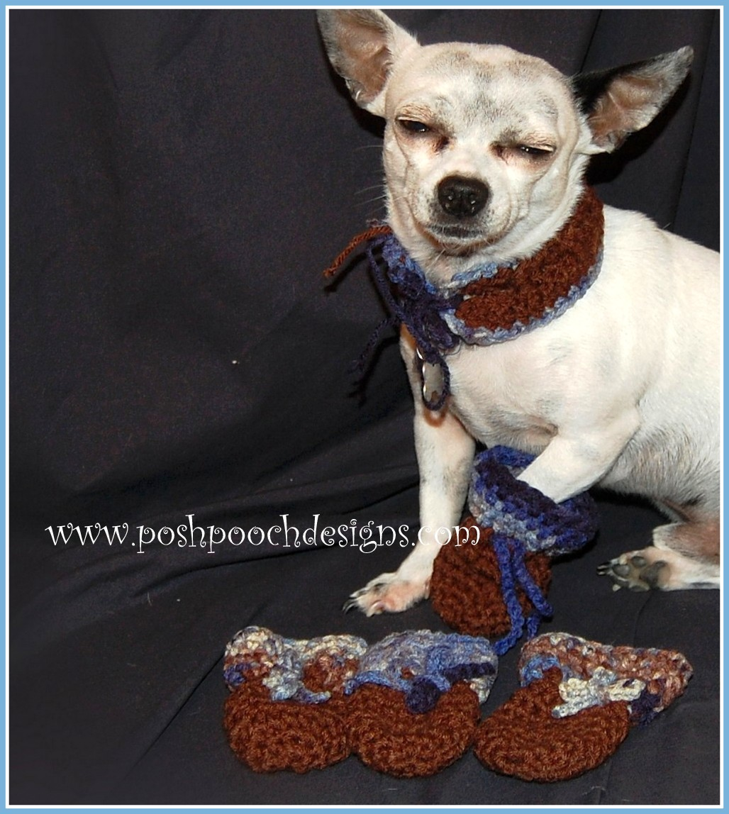 Dog Booties Pattern Cool Inspiration