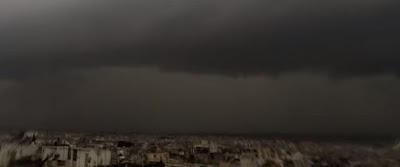 καταιγίδα,Αθήνα,timelapse,βίντεο