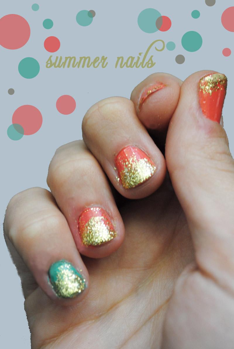 Heart And Craft: Summer Fun, Summer Nails