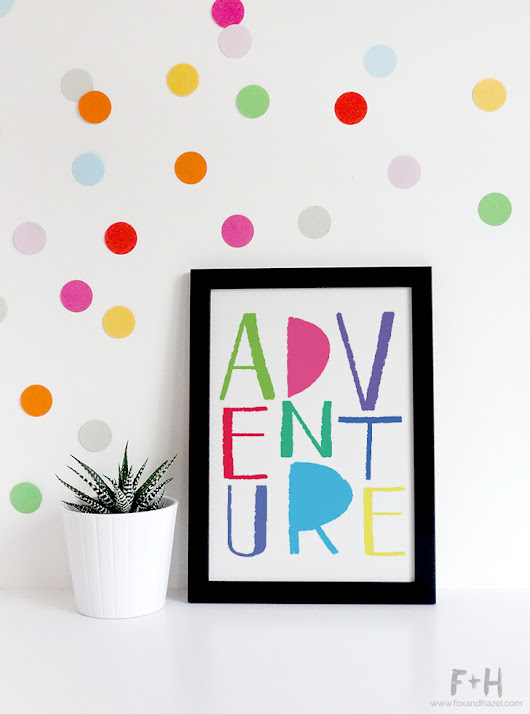 Adventure Children's Print