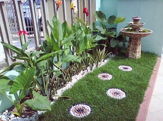 Small Frontyard Garden Minimalist Home