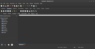 Install Aplikasi Pemrograman Bluefish di Kali Linux | Linux Programming