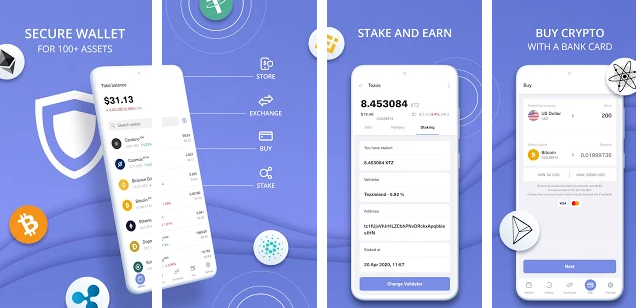 Ethereum wallet, Ethereum Mobile Wallets
