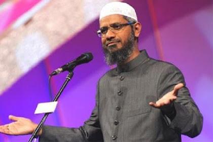 Dr Zakir Naik Diusir dari Malaysia karena Serukan Pengusiran Etnis China