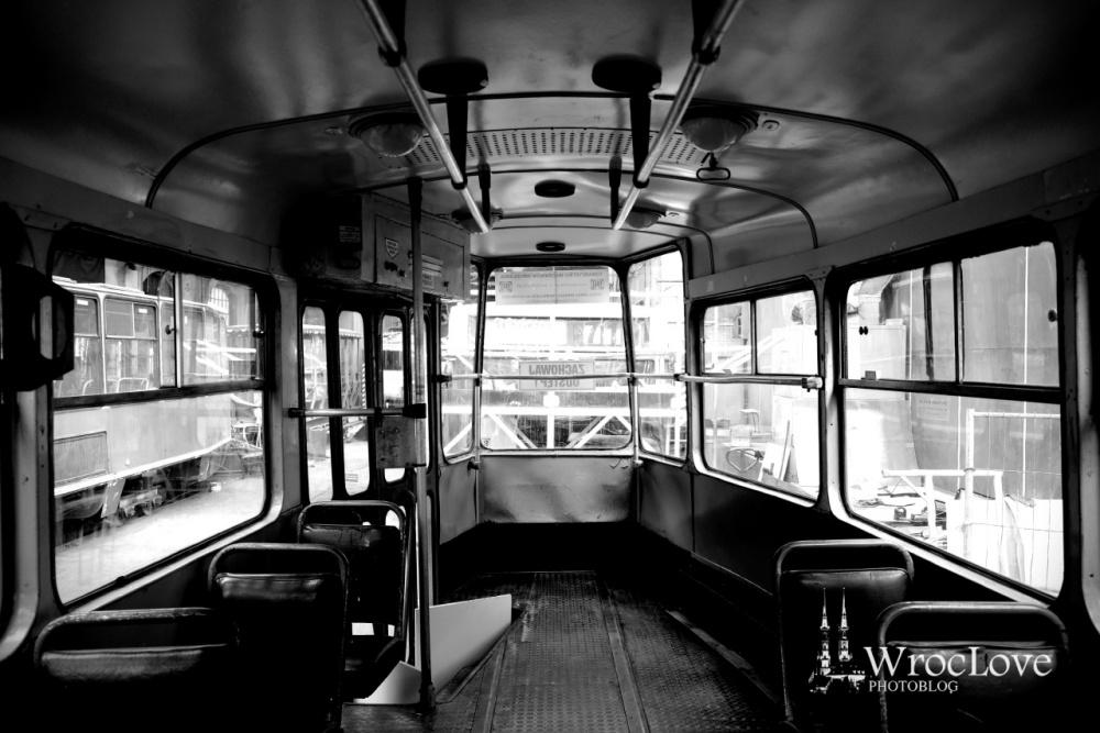 wrocławskie tramwaje - wnętrze Kosntal 102NA