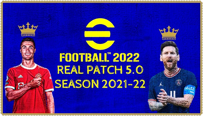 Real Patch 5.0 Season 2021-2022 For PES 2013