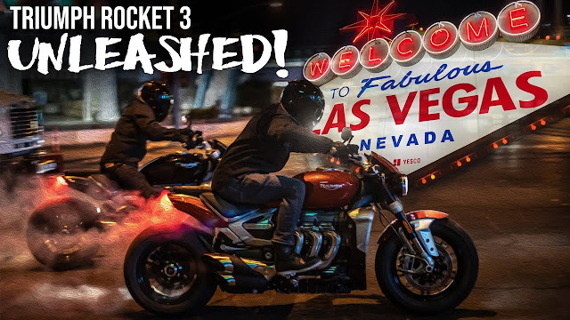 Empire - Ernie Vigil and Nick Apex on Triumph Rocket 3's Unleashed on the Las Vegas Strip