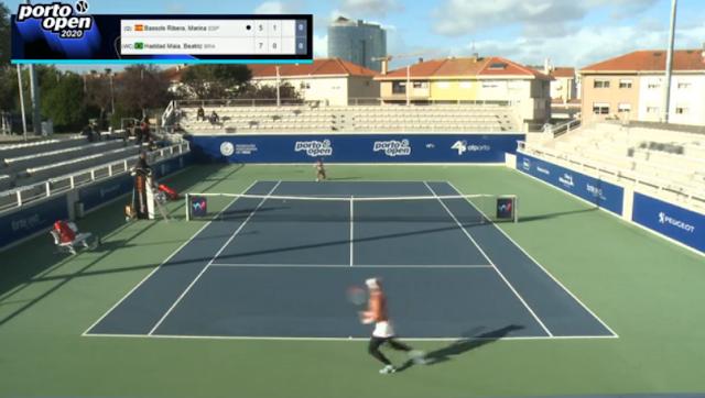 Beatriz Haddad Maia tênis brasil ao vivo Porto