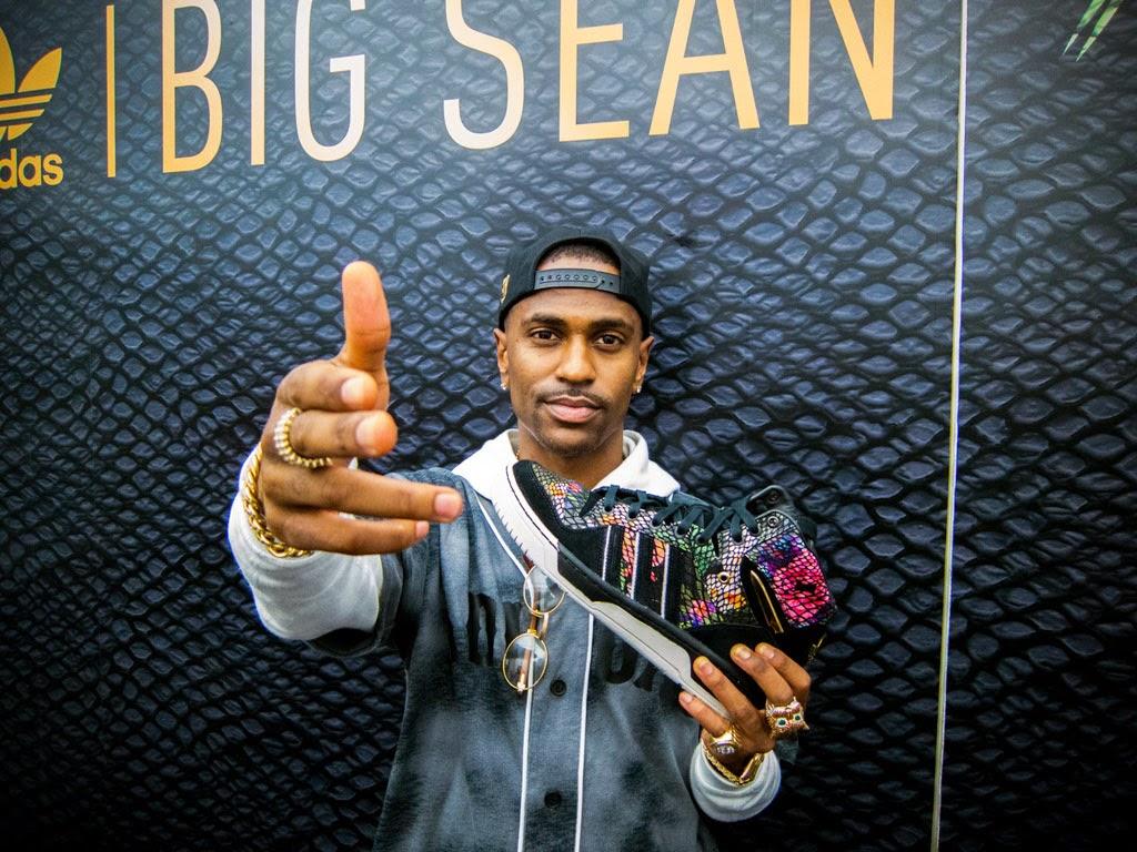 timeless design 48071 de2f7 Big Sean x adidas Originals Metro Attitude Launch at KITH Recap ~