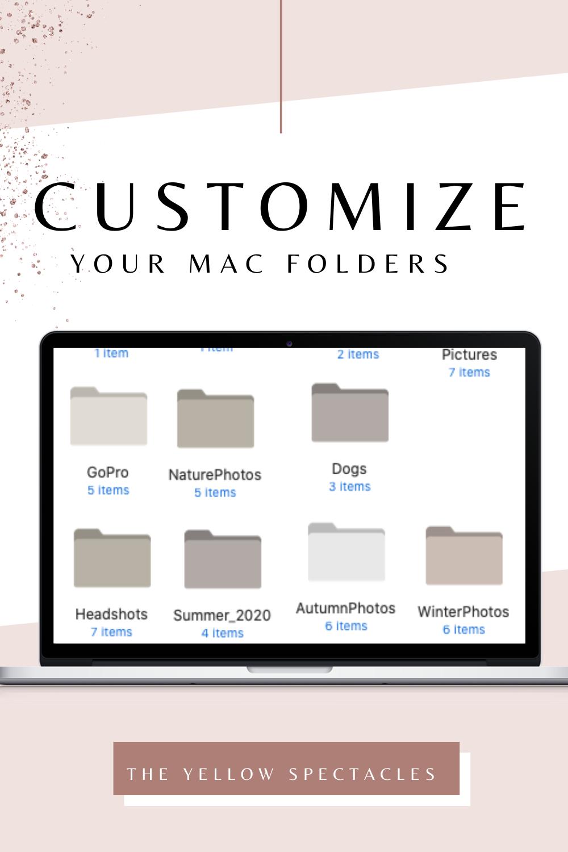 Customize those blue Mac Folders into Aesthetically Pleasing Folder Colors