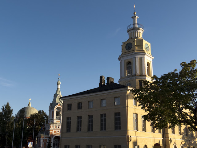 Finland road trip: Center of Hamina, Finland