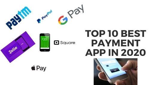 Top 10 best payment app in 2020