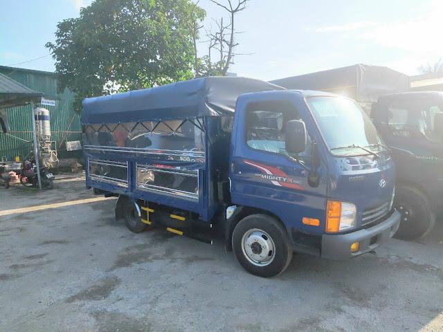 Giá lăn bánh xe tải Hyundai N250 thùng bạt