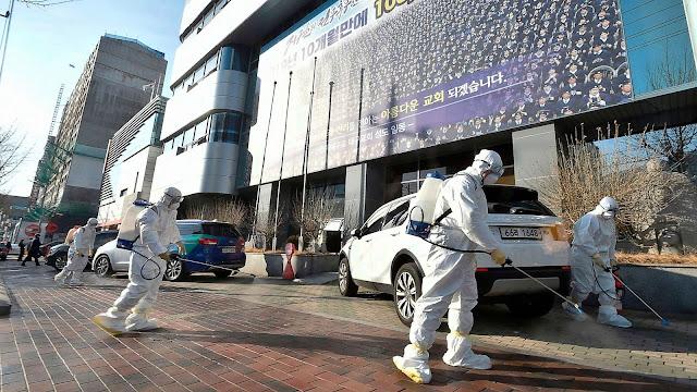 Южна Корея пламна от коронавирус, обявиха извънредно положение (ВИДЕО)
