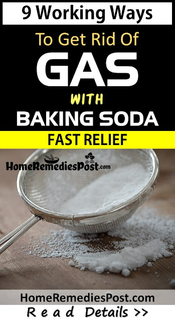 Baking soda for Gas, Home Remedies For Gas relief fast, How To Use Baking soda for Gas Relief Fast, How To Get Rid Of Stomach Gas