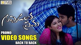 Guppedantha Prema Video Songs Trailers __ Back To Back __ Sai Ronak, Aditi Singh, Aishwarya