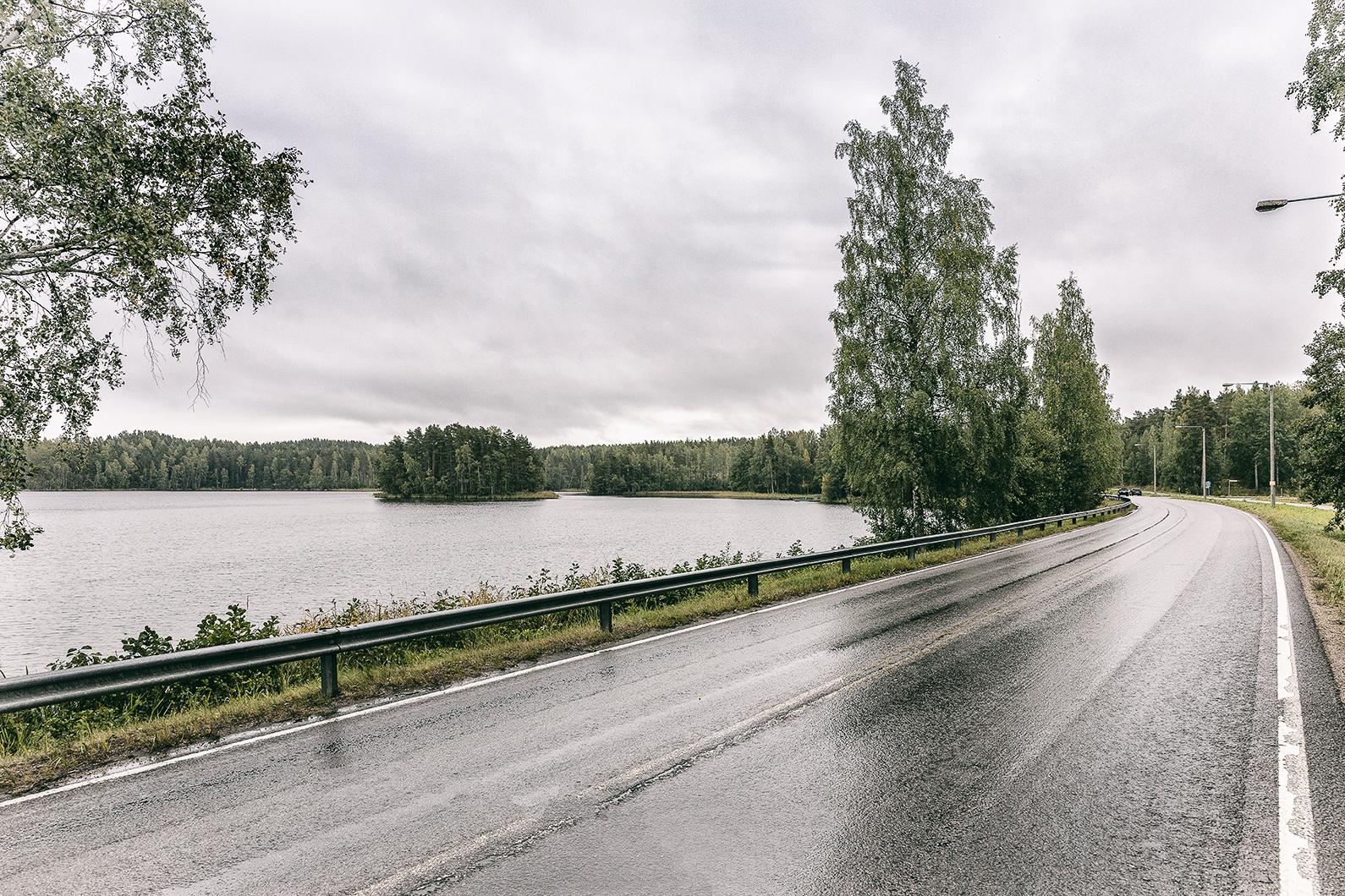 Saimaa, Taipalsaari, tie, Lappeenranta