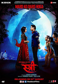 Download Stree (2018) Full Movie Bluray 480p